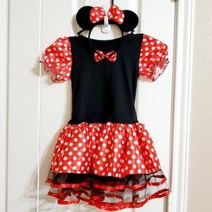 Halloween minnie mickey dress costumes..size L